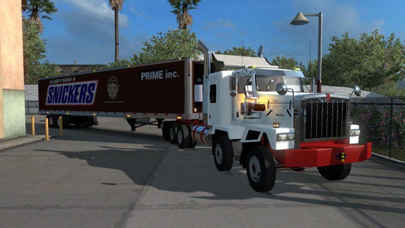 KENWORTH C500 JDM 1 32 X • ATS mods | American truck simulator mods