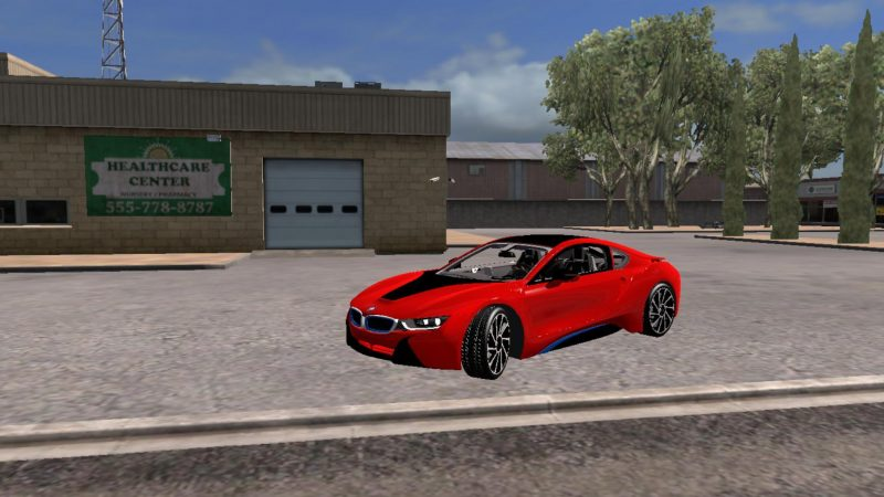 Bmw I8 Version 26 10 18 V1 0 Ats Mods American Truck Simulator