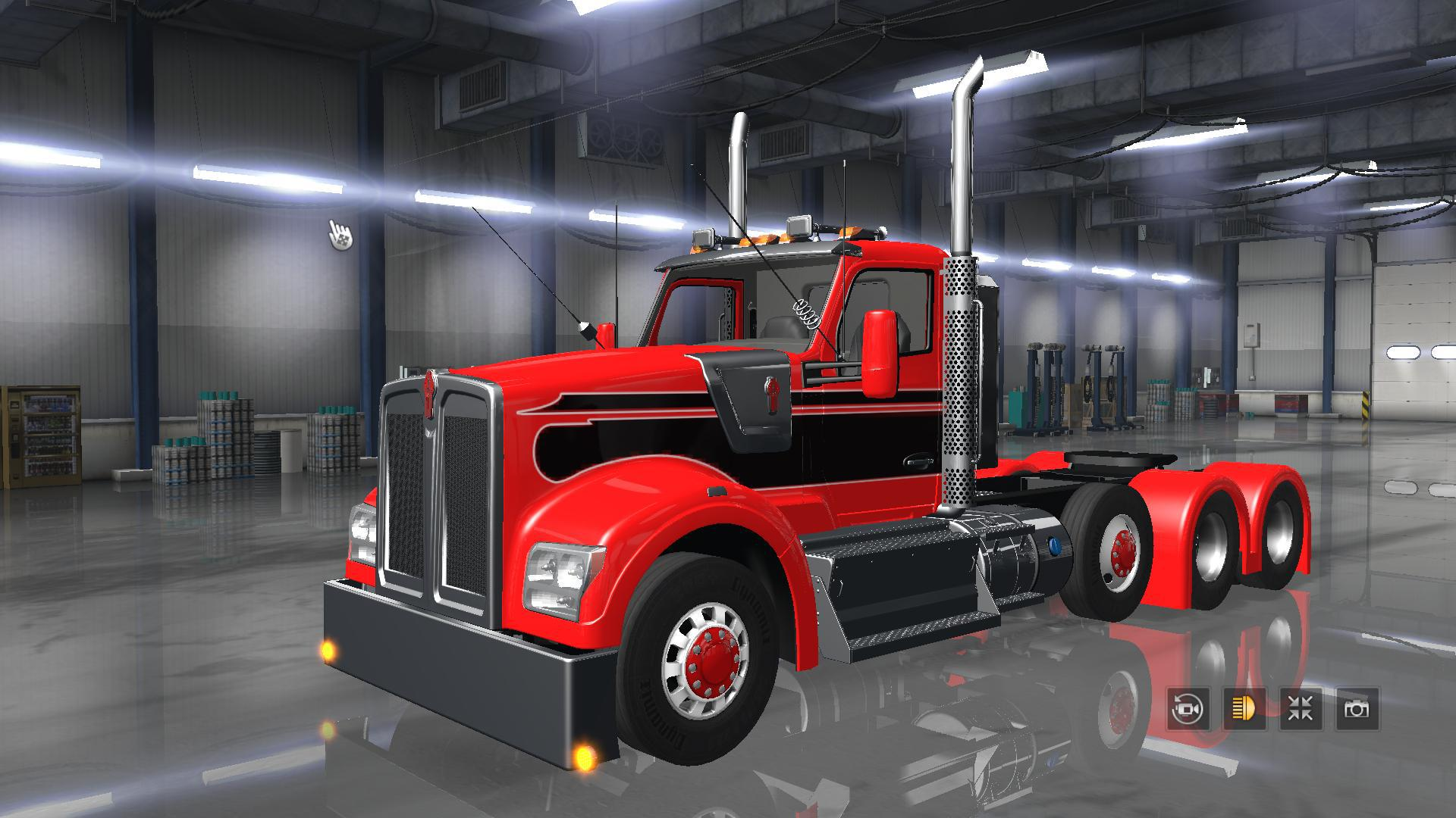 kenworth w990 2018 ats mods american truck simulator. Black Bedroom Furniture Sets. Home Design Ideas