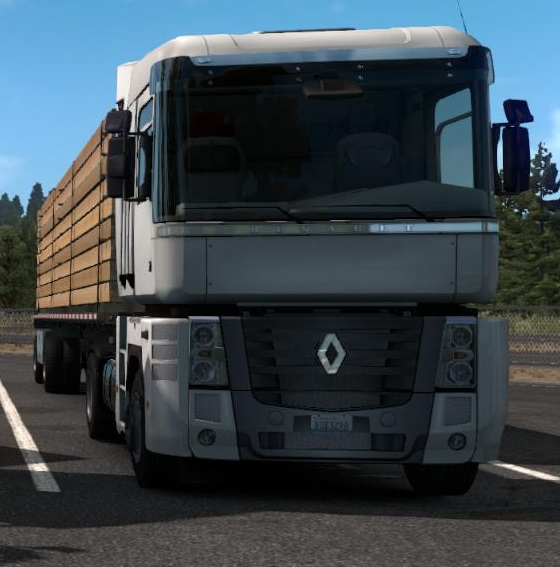 Renault Trucks: [ATS] RENAULT TRUCKS V1.0 1.35.X • ATS Mods