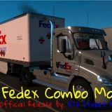 fedex-official-28-pup-trailer-with-freightliner-day-cab-truck-1-35_8