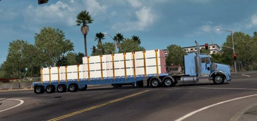 ATS Trailers mods | American truck simulator Trailers mods