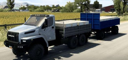 Ural-Next-for-ATS-with-BDF-trailer-and-cargoes-v1-1